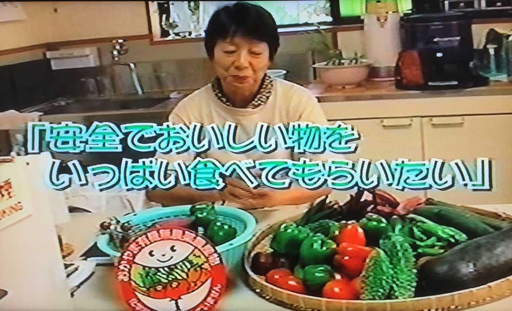 石井食品株式会社有機野菜特集ビデオに出演